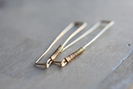 Monette II Earrings. #RachelBall