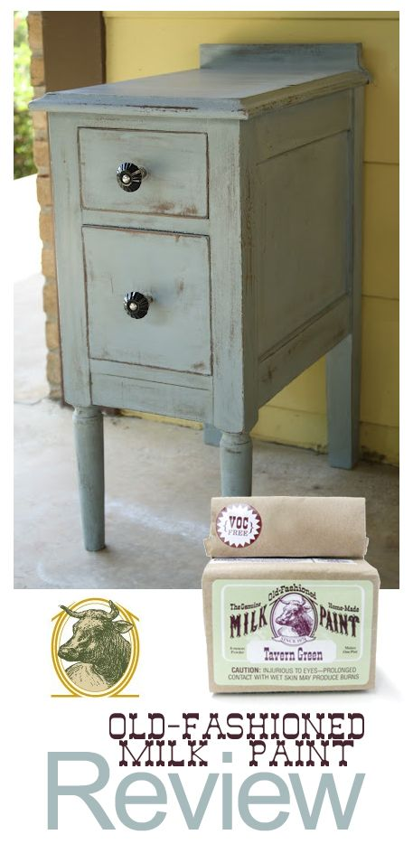 Old-Fashioned Milk Paint Review - #painting #furniture