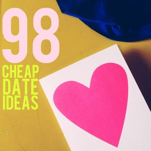 cheap date ideas just in time for valentine's day!