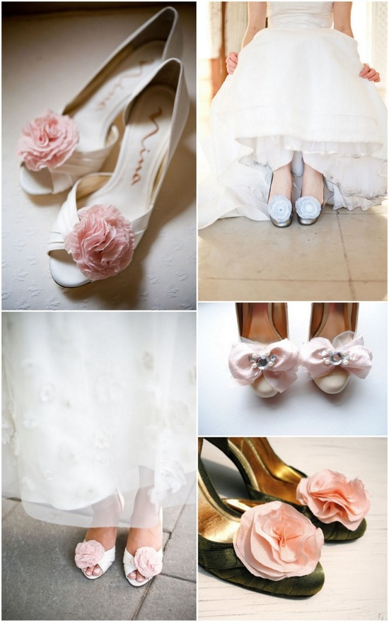 Make your shoes even more fun with a flowery shoe clip!