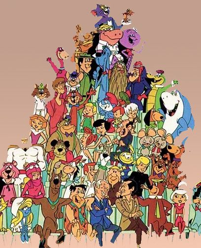 old cartoons characters