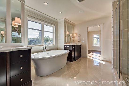 Hillhurst {Custom} Master Bath // Veranda Estate Homes & Interiors