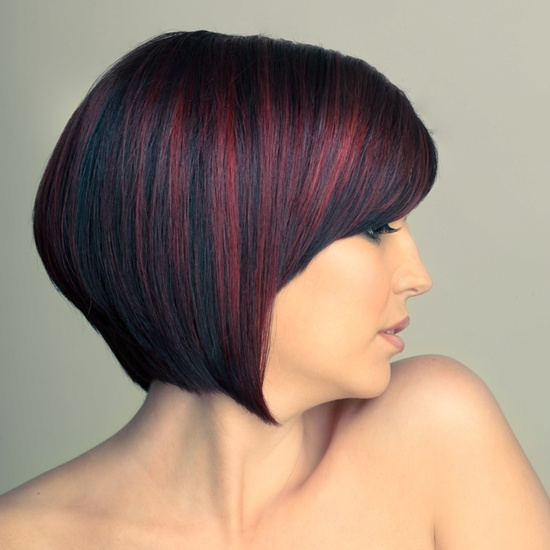 Red Highlights- Hair by Marcie DeHart