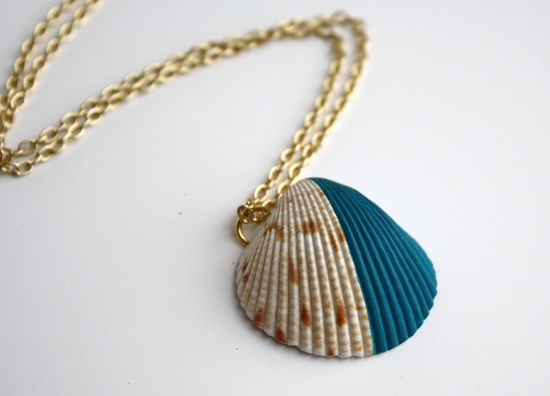 Dipped sea shell