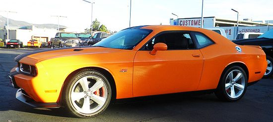 Dodge Challenger 2012 — Cheapest new sport cars of this year