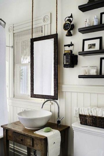bathroom shelves ::