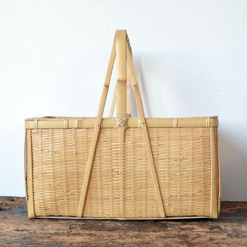 Kagoshima common Japanese bamboo picnic basket