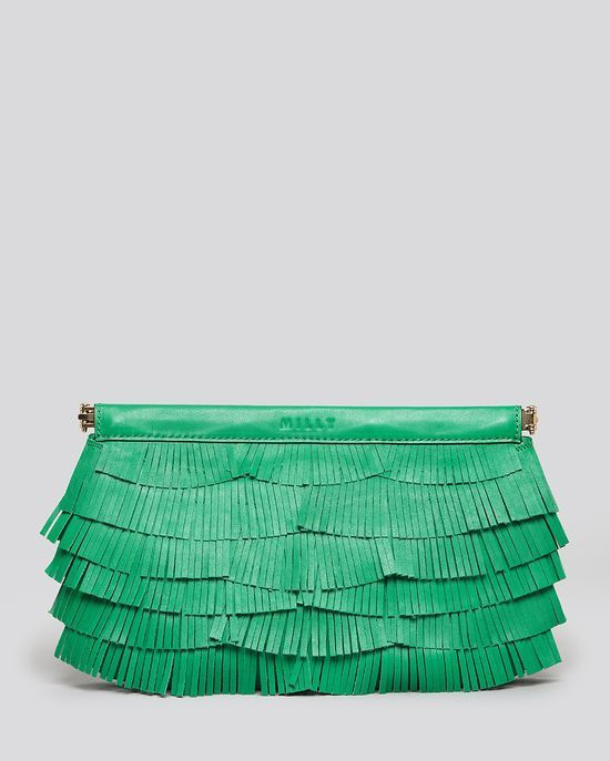 Milly Clutch - Nikki Fringe Facile #Awesome Handbags