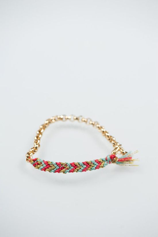 friendship bracelet.