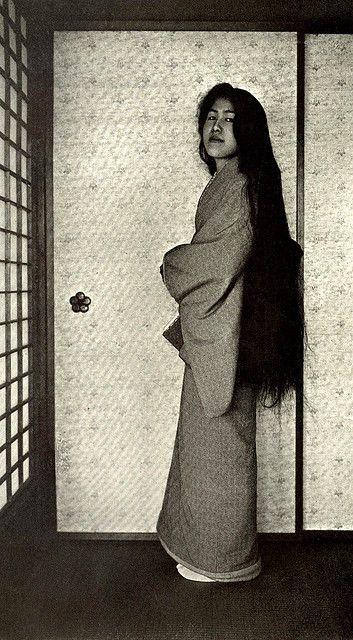 Hair of a Geisha , ca 1905