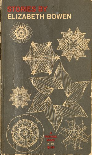 Vintage book cover with really nice shapes