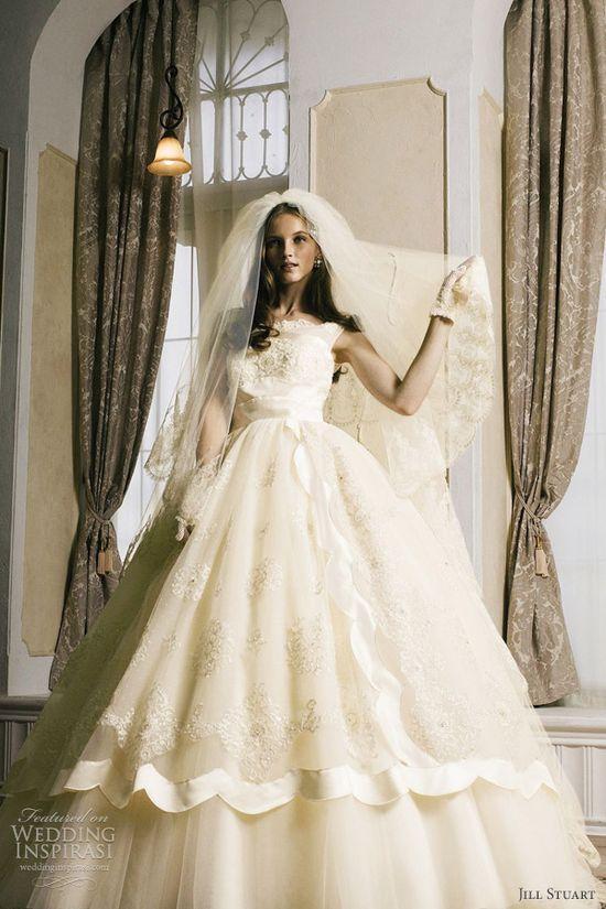 jill stuart wedding dress 2012
