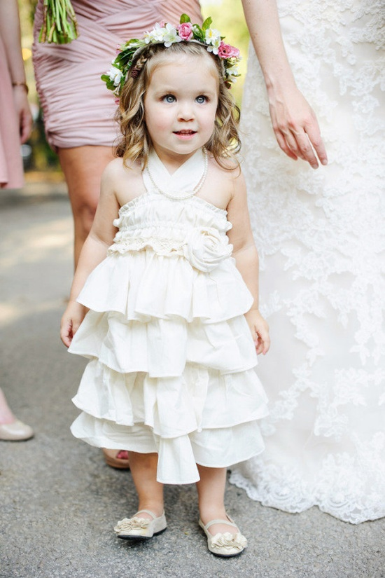 Adorable flower girl! #wedding