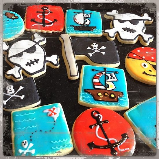 Pirate --CAPTAIN Cookies