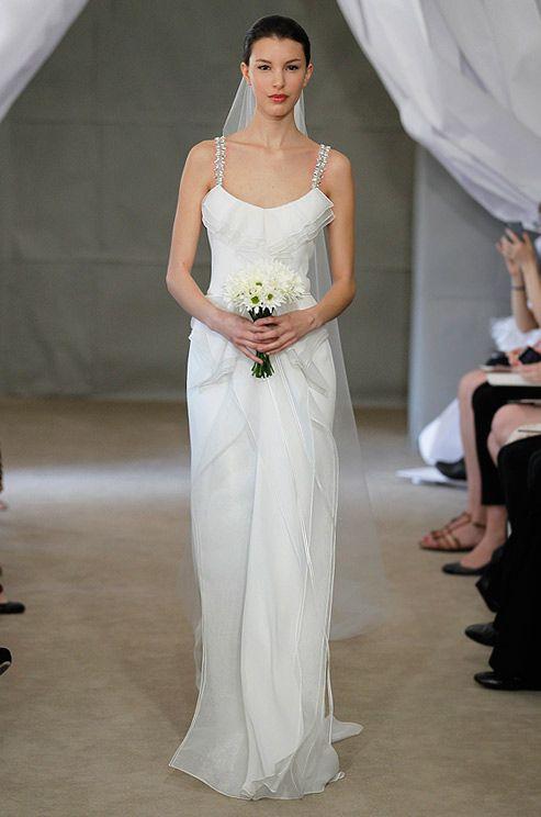 Carolina Herrera #bridal #dress