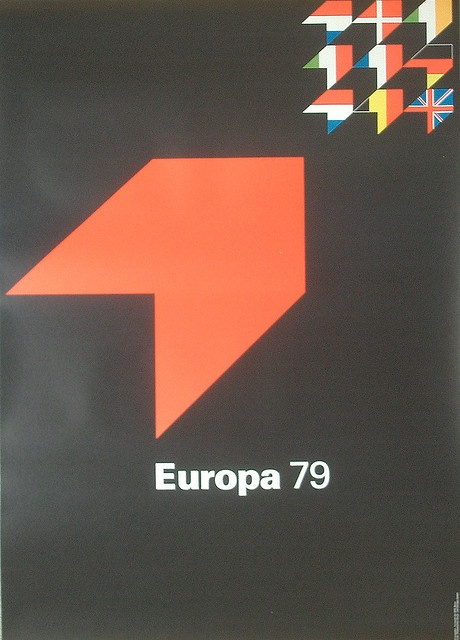 Europa 79. Designed by Otl Aicher