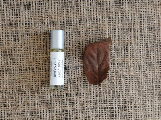 Earl Grey Chamomile Perfume Oil  Roll On Perfume by ripeshop, $10.00