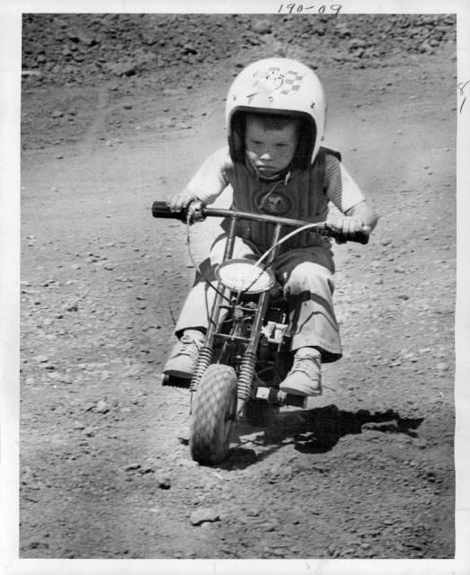 Mini-Bike - Check out this early Mini-Biker