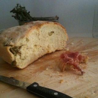 Handmade bread