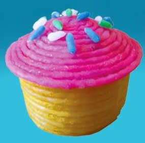 How to make a toy cupcake