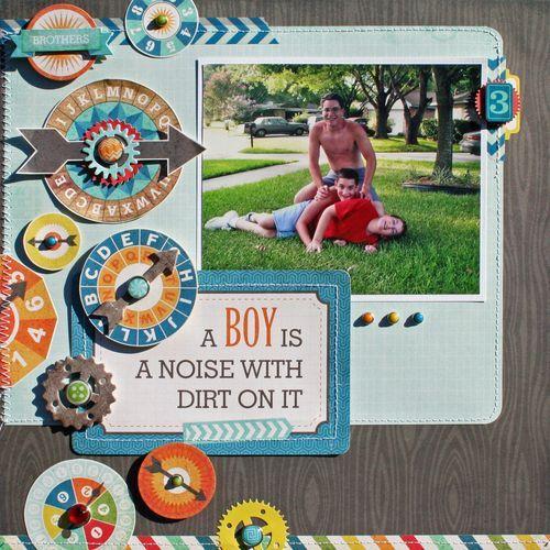 A Boy by designer Susan Stringfellow.