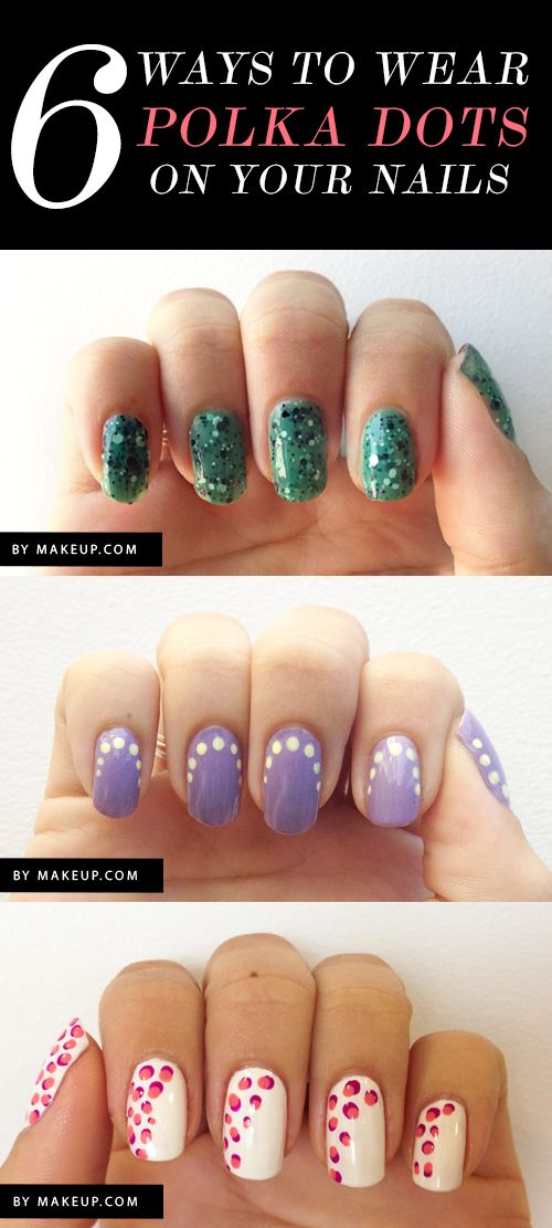 6 polka dot inspired manicures to try now!