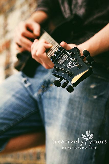 guitar, photography, composition