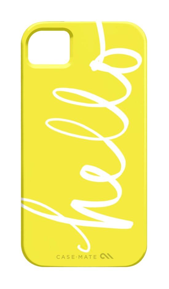 iPhone 4 or 5 case - Hello Handwriting. $39.00, via Etsy.