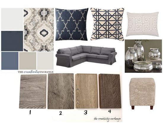 Office Revamp Plan.  Which floors should Cyndy choose? {The Creativity Exchange}