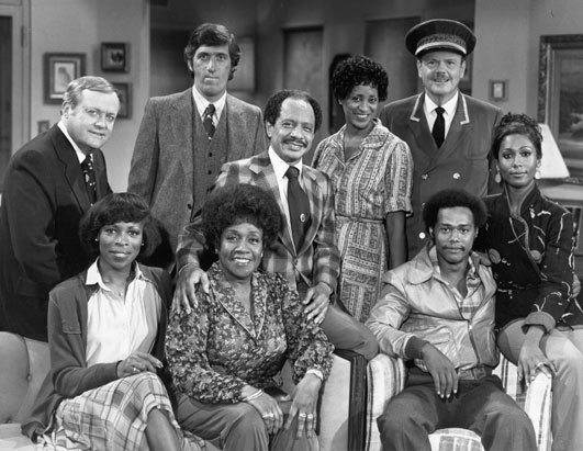 TheJeffersons: TV Show I Heart from the 70s