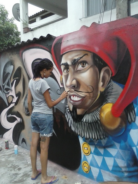 In action by VIBER .ctor-9, via Flickr #graffiti #street #art