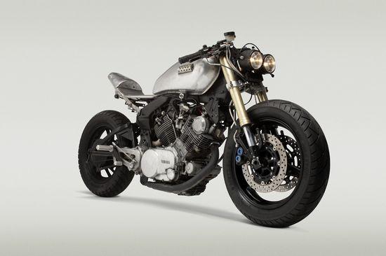 "Yamaha XV 750 Virago ""Reciprocity""   - Pipeburn - Purveyors of Classic Motorcycles, Cafe Racers & Custom motorbikes"