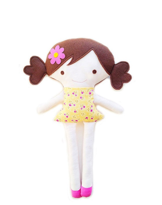 PDF Doll Sewing Pattern - Girl and Boy Doll Sewing Pattern Plush Toy Fabric Doll Pattern. $10.00, via Etsy.