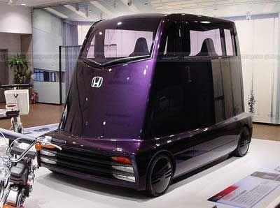 """Странната концептуална кола на Хонда—""""Cube"""""""