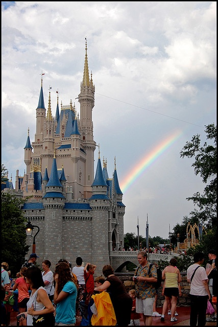 Disney is at the end of the rainbow!