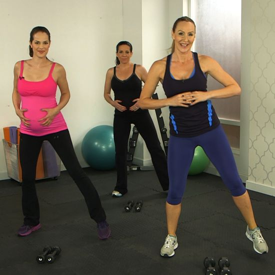 10-Minute Prenatal Workout From Heidi Klum's Trainer