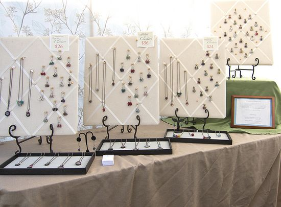 #LEAF #festival #booth #display #jewelry