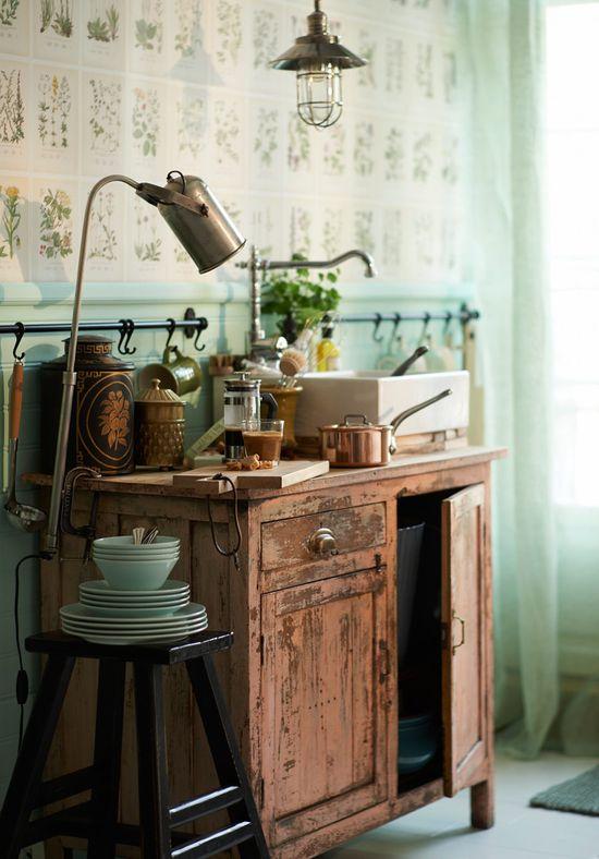 Här är detaljerna till ditt sommarkök - Sköna hem - a lovely #kitchen workspace