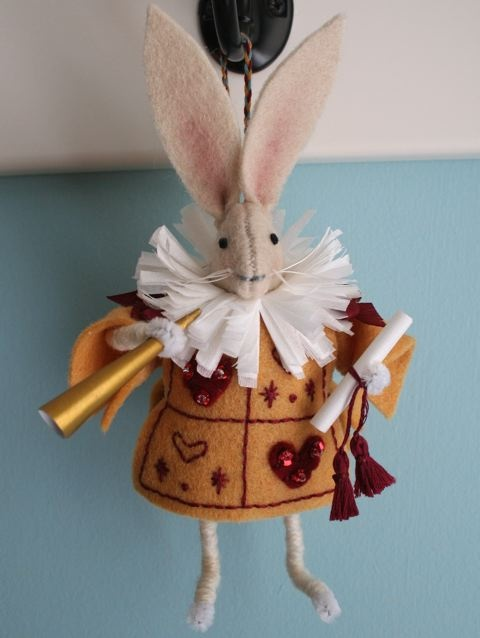 mmmcrafts: handmade gifts 2010: Alice In Wonderland ornaments