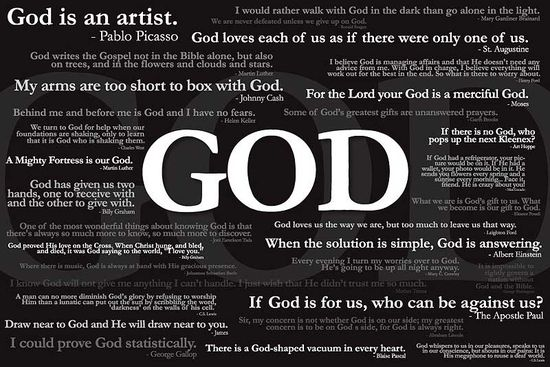 GOD (famous quotes about God)