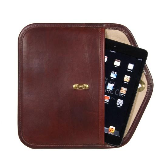 Whitney iPad Mini Clutch in Oxblood