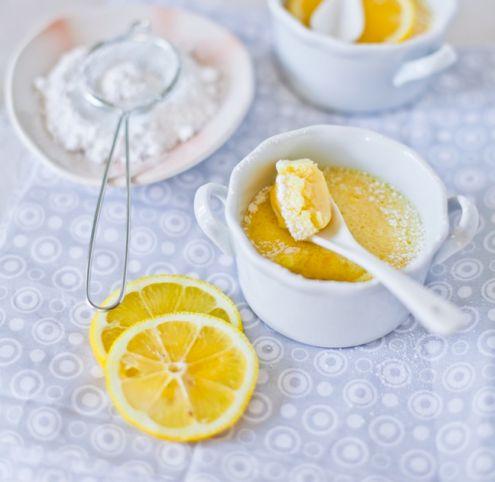 Lemon pudding!