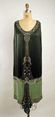 cCallot Soeurs Dress ca. 1925 silka