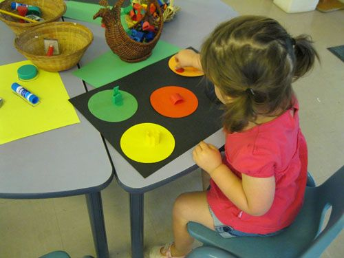 Matching games for toddlers and preschoolers.
