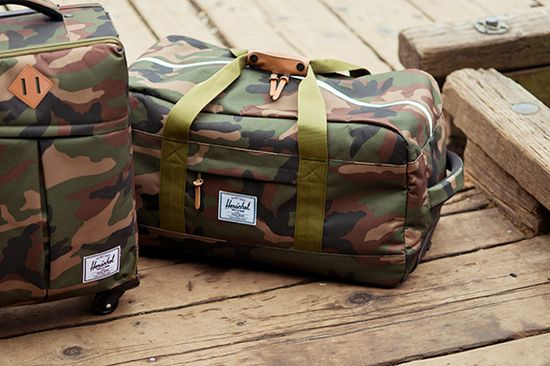 Herschel Supply Co. Fall 2013 Travel Collection