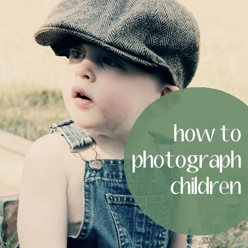 How to photograph children tips
