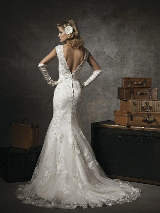 Amazing Mermaid Wedding Dresses 2013