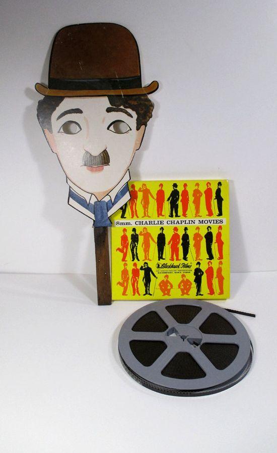 Vintage Charlie Chaplin Collection  Mask by UrbanRenewalDesigns, $35.00