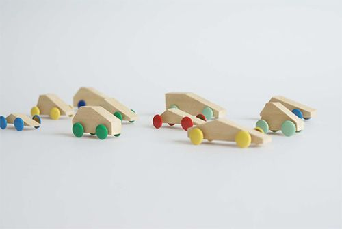 Simple DIY Wooden Toy Cars
