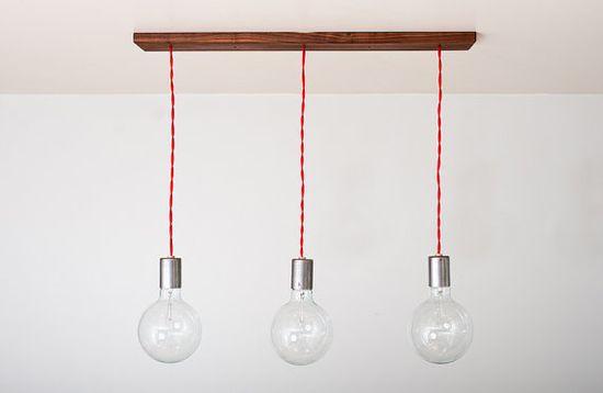 Henry Light - 3 globe pendants